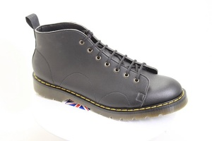 Vegan Monkey Boots on 4-layer Tredair soles. Made in the UK.