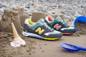 New Balance Seaside Pack trainers. Made in England.