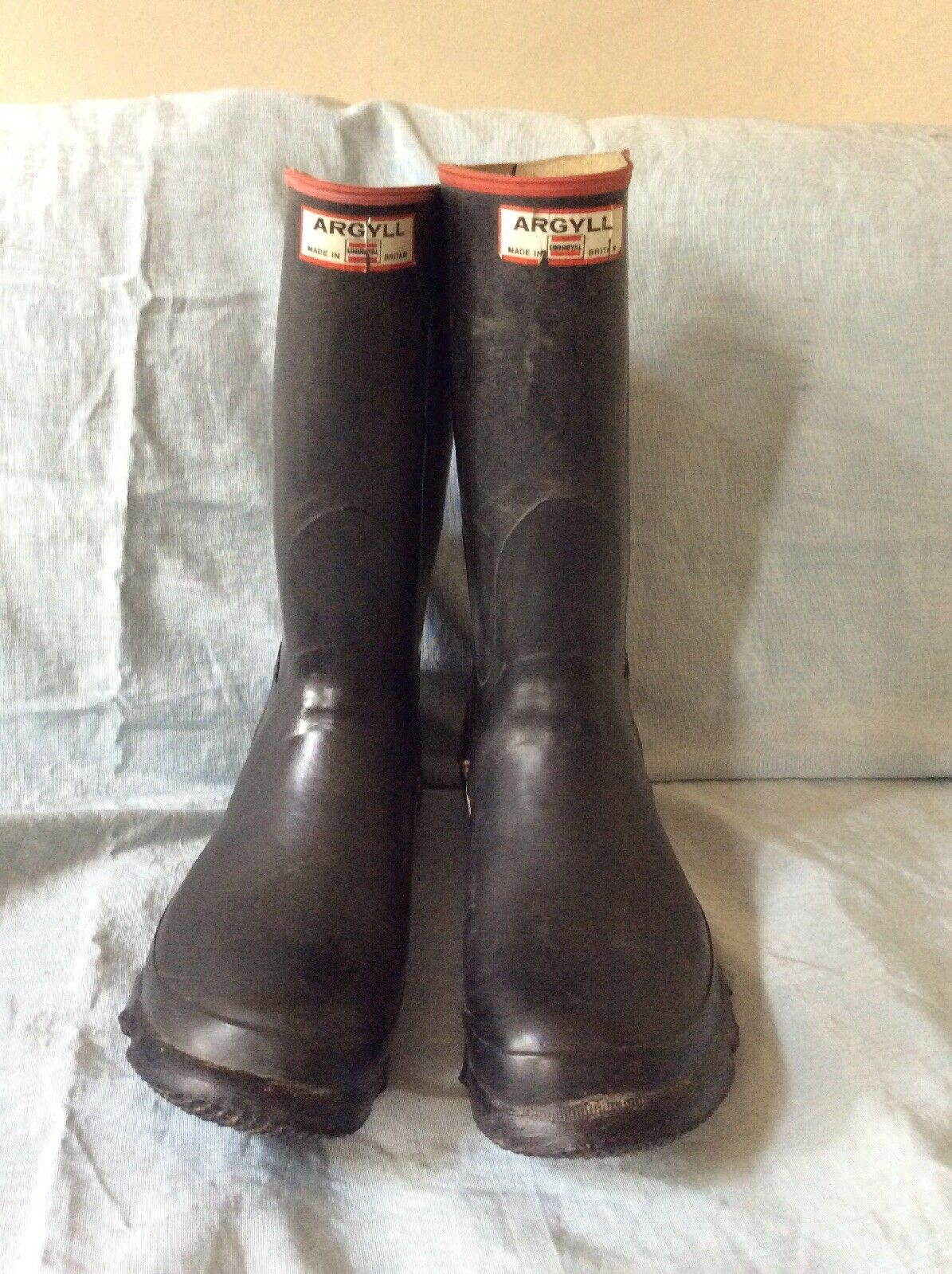 MENS PULL-ON WHITE SAFETY STEEL TOE CAP WELLIES WELLINGTON WORK BOOTS UK 6-11
