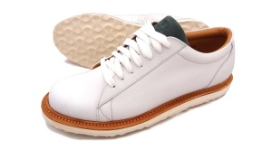 Northampton Sneaker Co. NSC 1 - WHITE sneakers. Made in England.