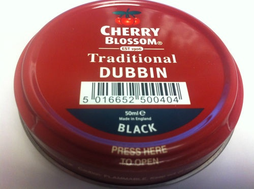 Dubbin in black, brown or neutral by Cherry Blossom. A great product. Made in England.