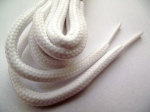 5mm round white laces from thankshoe on e-bay, 31.12.12