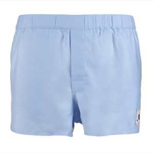 Burtonwode Baby-Blue boxers.  Made in England.