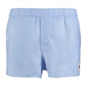 Burtonwode Baby-Blue boxers. Made in England.
