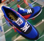 Walsh Lostock Blue/Red/Dark Blue. Made in Engalnd.