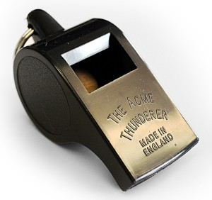 Acme Thunderer no 558. Made in England