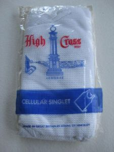 High Cross - cellular singlet.  Made in England.