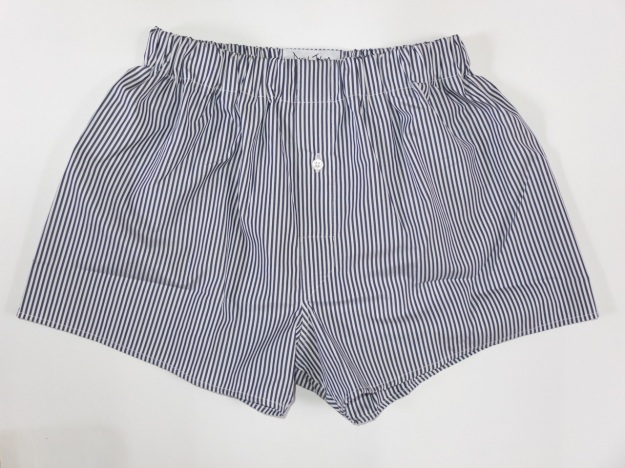 Daniel Jenkins Purposeful Activity Marlowe Boxer Shorts.  Made in London using British made fabrics, buttons, and labels