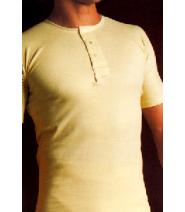 High Cross Traditional Undershirt SHORT Sleeve.  Made in England.