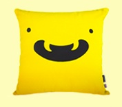 Osoroshii cushion, made in the UK