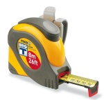 Big T tape measure by Fisco.  Made in England