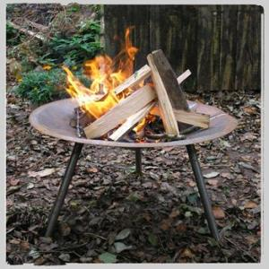 Windy Smithy Fire Saucer (portable fire pit). made in England.