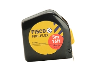 Fisco Pro-Flex tape measure. Made in England.