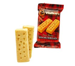 Walkers Snack Pack Shortbread Finger 2's. Made in Scotland.