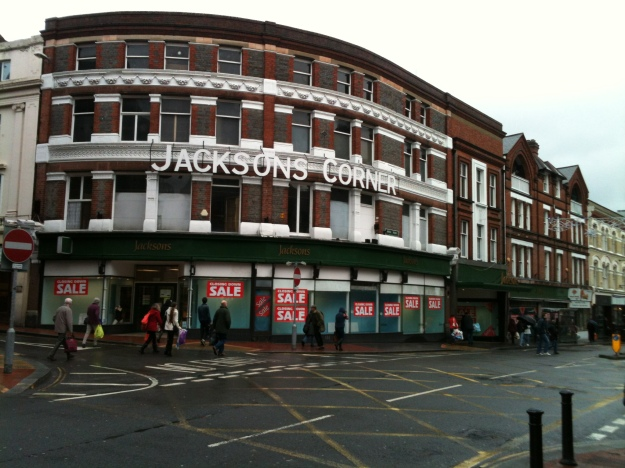Jacksons of Reading 21st December 2013 - the fabulous store will close its doors for the last time this Christmas Eve.