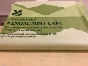 National trust Kendal Mint Cake. Made in England.