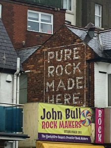 John Bull rock shop in Scarborough.