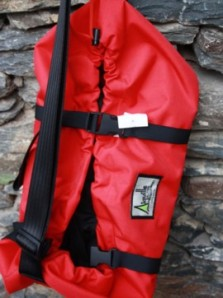 Aiguille Alpine rope bag. Made in England.