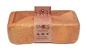 FieldCandy Snoos London Brick design foam pillow. Made in England.