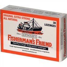 Lofthouse's Fisherman's Friend 45g.  Made in England.