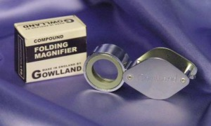 Gowlland Compound Magnifier #1067A.  Made in England.