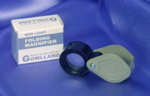 Gowlland New Light Magnifier #215.  Made in England.