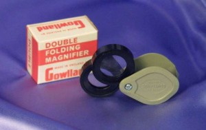 Gowlland Twin Magnifier #216.  Made in England.