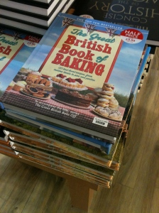 The Great British Book of Baking (published by Michael Joseph Ltd; part of Penguin – as seen in WH Smith Trowell Motorway Services 7.10.13), to accompany the BBC TV series The Great British Bake Off – it's a disgrace to Penguin, WH Smith and the BBC that this book is made in China.