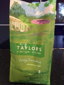 Taylors of Harrogate Lazy Sunday Sunday ground coffee. Roasted and packed in the UK.