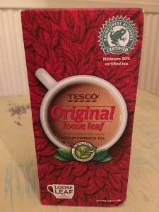 Tesco Original loose leaf tea is again produced abroad but packed in the UK