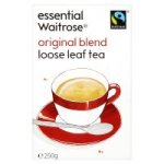 Essential Waitrose Original Blend - Loose Leaf Tea 250g. Packed in the UK.