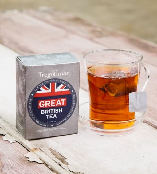 Tregothnan GREAT British Tea. Grown, blended and packed in England