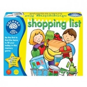 Orchard Toys Shopping List game. Manufactured in the UK.