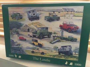 A vintage House of Puzzles Landie jigsaw. Made in the UK.