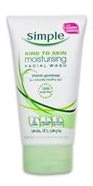 Simple Moisturising Facewash.  Made in the UK