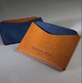 Tanner and Oak Avonstoke Card Holder. Made in the UK. a8041b9032fd