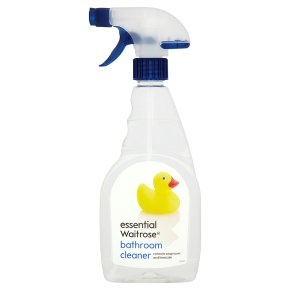 Essential Waitrose bath and shower cleaner. Cleans amazingly well. Made in the UK.