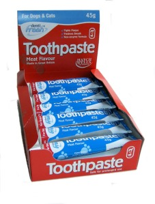 Hatchwell Meat Flavoured Toothpaste for Cats and Dogs 45g. Made in Great Britain.