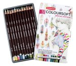 Derwent Coloursoft Pencils. Made in England.