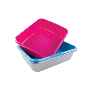 Armitage Good Girl Large Cat Litter Tray. Made in the UK. Available for example at WaitrosePet.