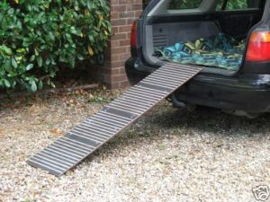 Dog Car Ramp Extra Long Heavy Duty Steel Made In The UK on eBay