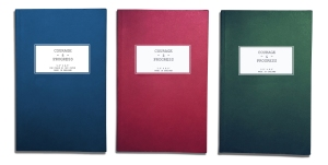 Courage and Progress notebooks - named after legends in specific fields; Captain Oates, Barnes Wallis, and T. S Eliot. Made in England.