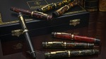 Conway Stewart Churchill Pens. Made in England.