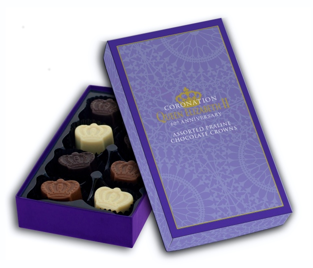 CORONATION 110g PRALINE BOX