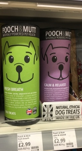 Pooch & Mutt dog treats are made in the UK.