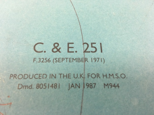 The inside of a produced in the UK for HMSO foolscap lever arch file, dated Jan 1987 and still in use in Jan 2017. It's a shame that HMG does not support British industry by buying British made stationery these days.
