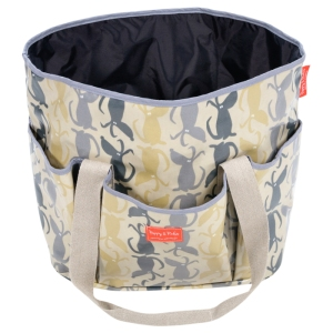 Maxi Dog Travel Bag in Rufus fabric. Made in the UK for Poppy & Rufus.
