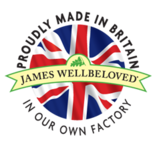 Union flag symbol used on the James Wellbeloved website