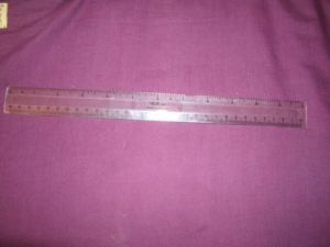 Vintage 30cm Helix JO9 Ruler. Made In England. Sadly Helix no longer manufacture in the UK.