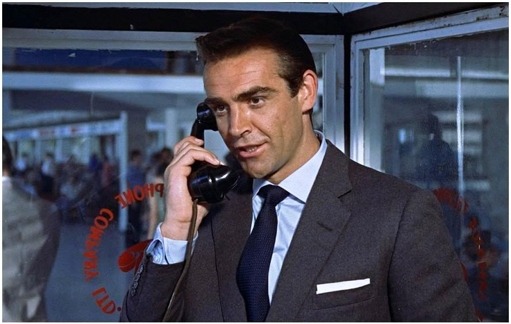 Sartorial Icon  James Bond  1962 Dr No . Notice those cuffs  Turnbull 5895877119628